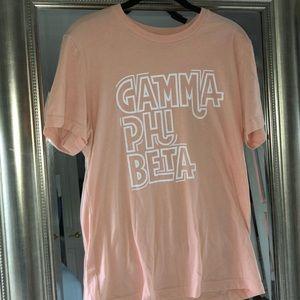 Gamma Phi Beta Sorority T-shirt
